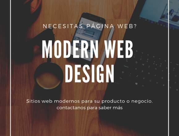 Página web para su negocio o Empresa