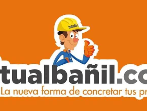 Tualbañil.com - Albañilería, Cerámicos,