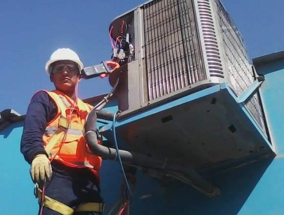 Realizamos Trabajos en Aires Acondicionados