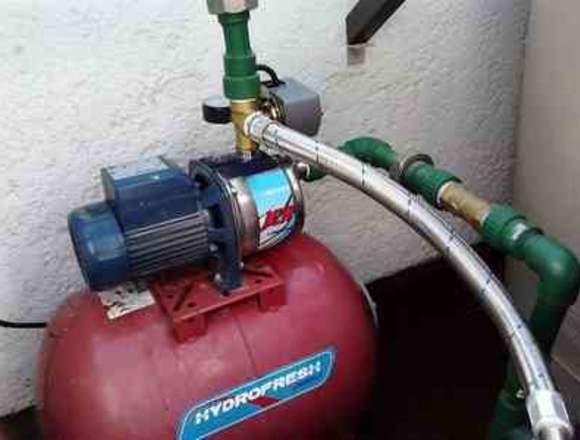 Reparación de Hidroneumaticos, Bombas de agua.