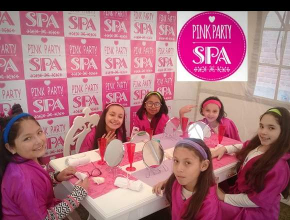 Mini spa The Pink Party