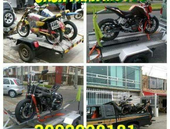Grúa para motos Bogotá