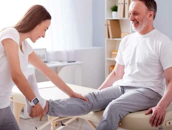 Fisioterapia a domicilio desde 50.000$