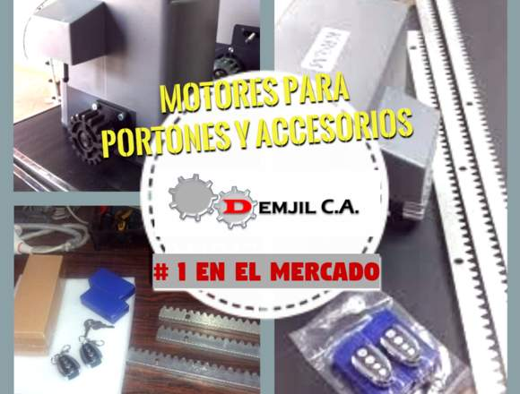 VENTA DE MOTORES PAA PORTONES ELECTRICOS