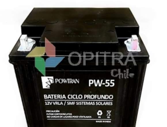 Bateria Solar Ciclo Profundo 55ah 12v