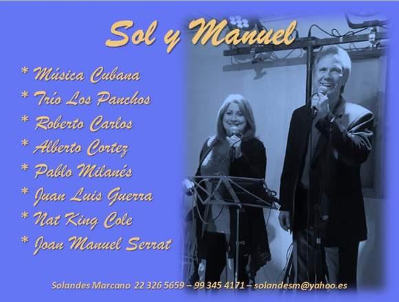Dúo de cantantes cubanos Sol y Manuel