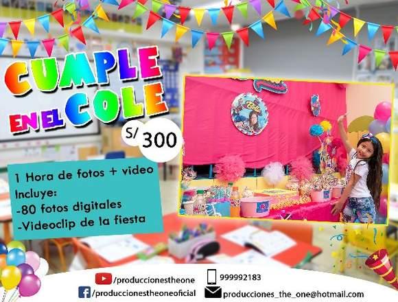 Oferta Foto y Video Fiesta Infantil