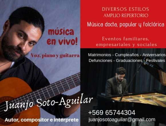 MUSICA EN VIVO A DOMICILIO
