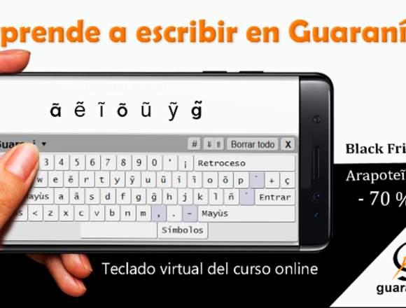 Aprende guaraní: leer y escribir.