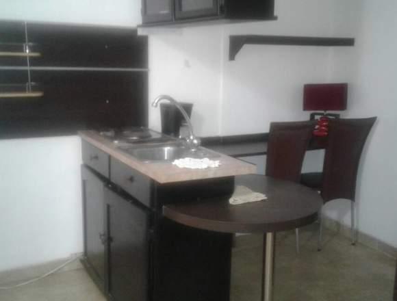 Apartamento tipo estudio amoblado