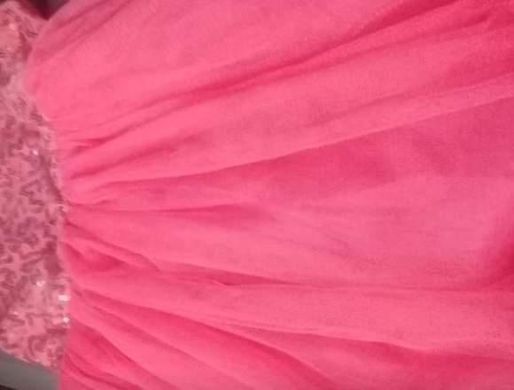 Vestido de niña lentejuelas