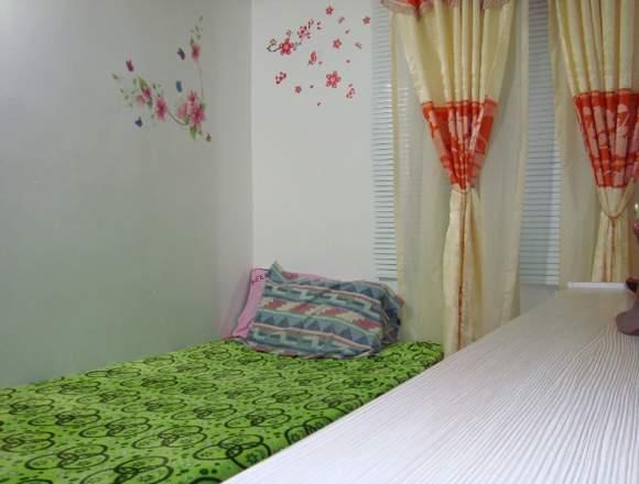 Árriendo habitación amoblada a persona sola