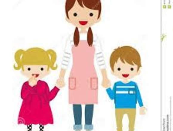 Cuidadora Niños en domicilio