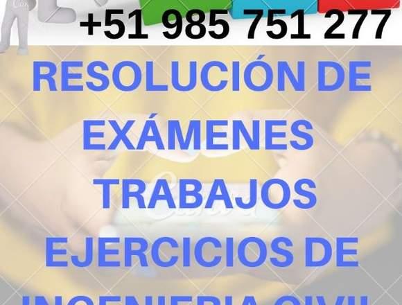 Asesoría Estática, Resistencia de Materiales.