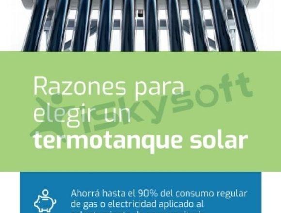 Termotanque Solar 200 litros