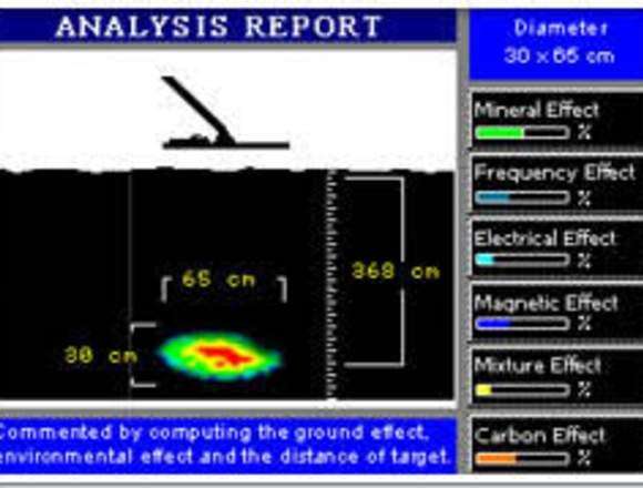 servicio detector de metales