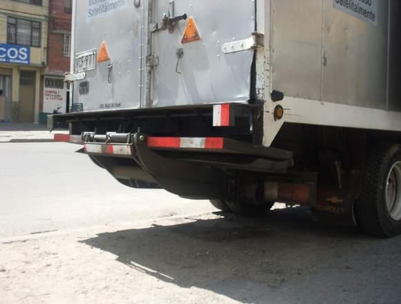 plataformas de carga y descarga para camion