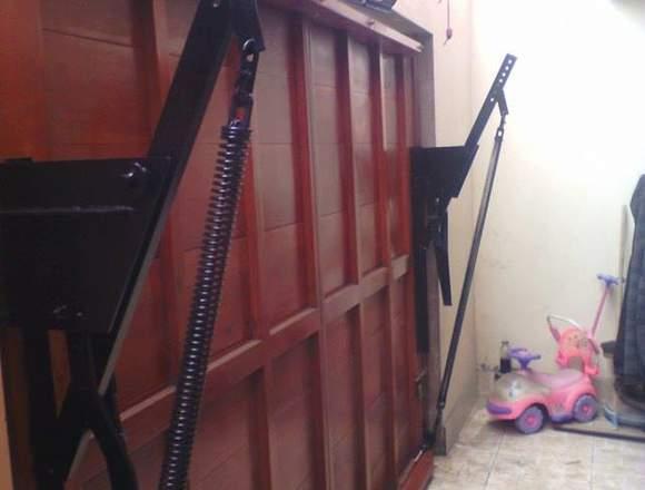 Puertas de garaje a control remoto