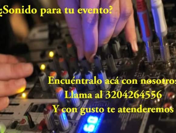 Alquiler de sonido en Bogota