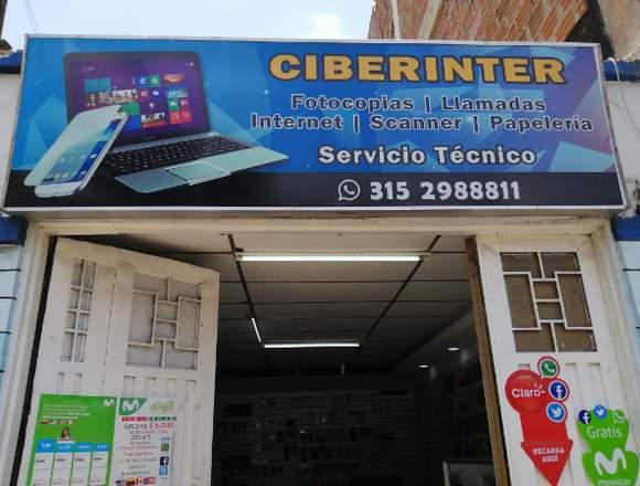 SE VENDE SALA DE INTERNET Y PAPELERÍA.