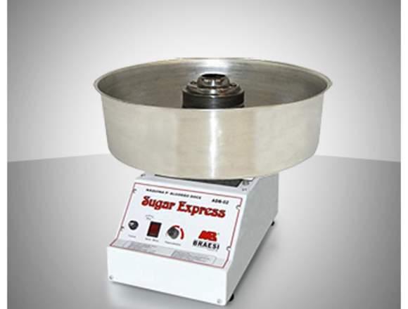 Maquina para algodón de azúcar, Máquina algodonera