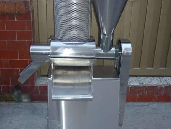 fabricacion de maquinas despulpadoras de frutas