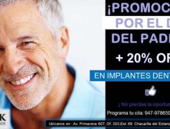 IMPLANTES DENTALES NORTEAMERICANOS