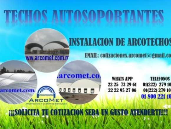 TECHOS EN FORMA DE ARCO, ARCOTECHOS