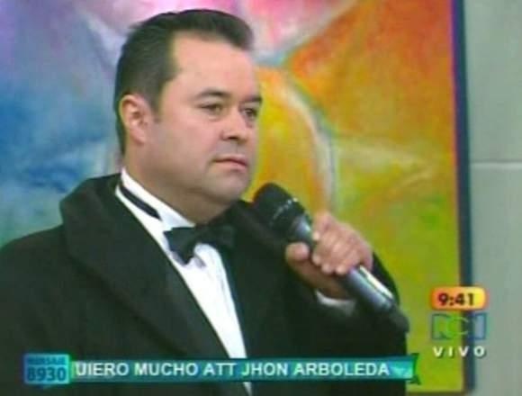 Cantante en Bogotá Willy Rago