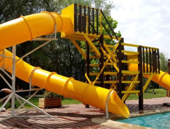 tobogàn para piscina