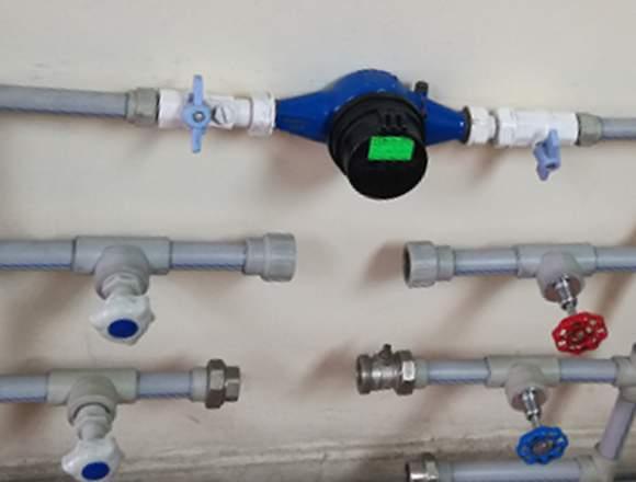medidor, contometro de agua para departamentos