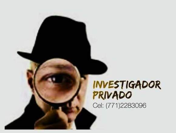 INVESTIGADOR Y DETECTIVE PRIVADO
