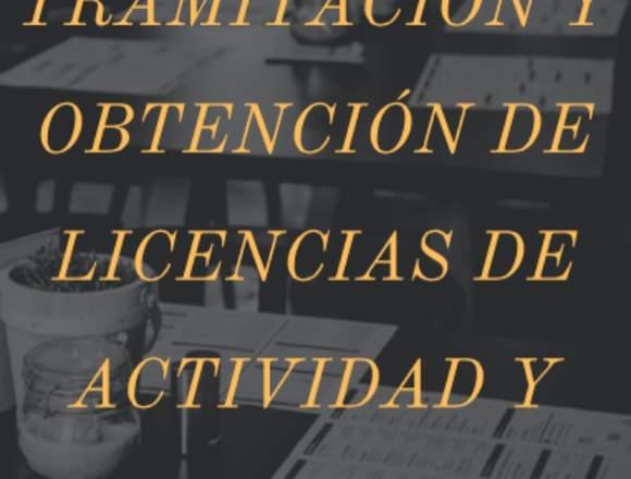 Gestión de declaración responsable y licencias