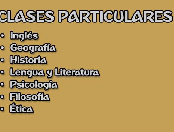 Clases particulares / Apoyo escolar