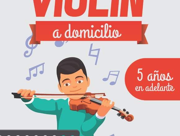 CLASES DE VIOLÍN  (a domicilio)