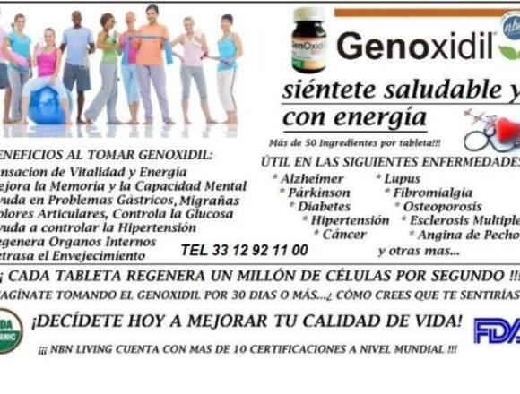 Genoxidil Regenerador Celular