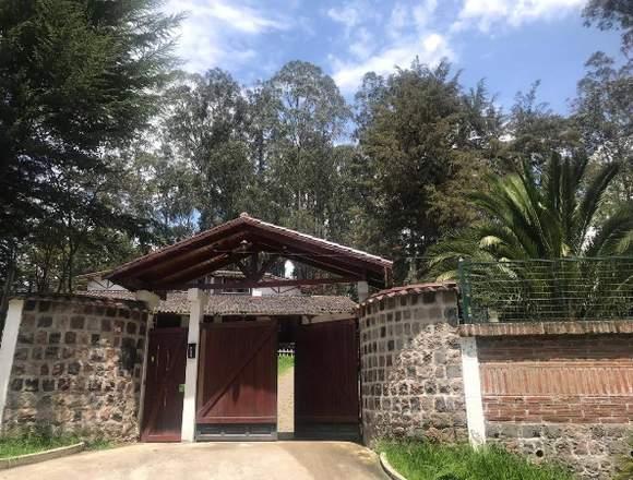 QUINTA EN ONTANEDA- CONOCOTO
