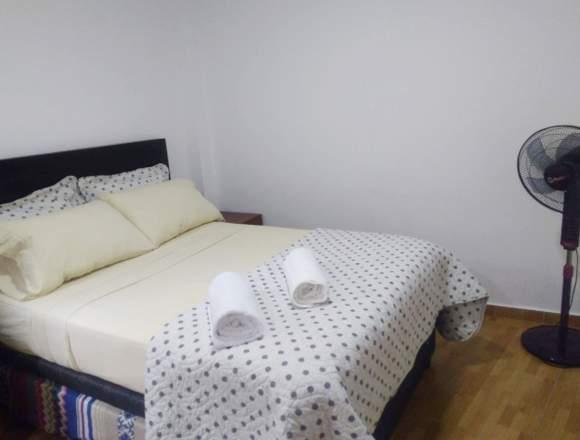 Alquiler Temporal de departamento en Barranco