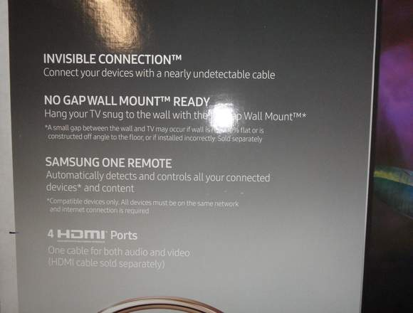 Samsung 55-Inch 4K Ultra HD Smart QLED TV