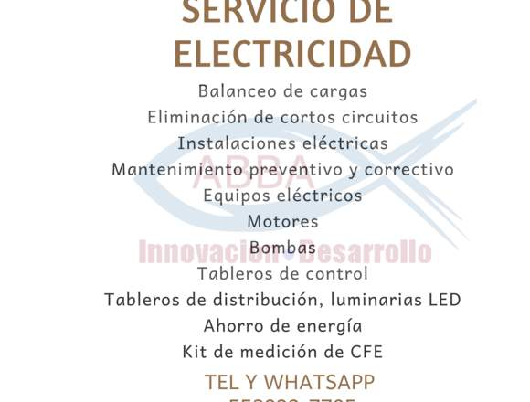 Servicio de electricista