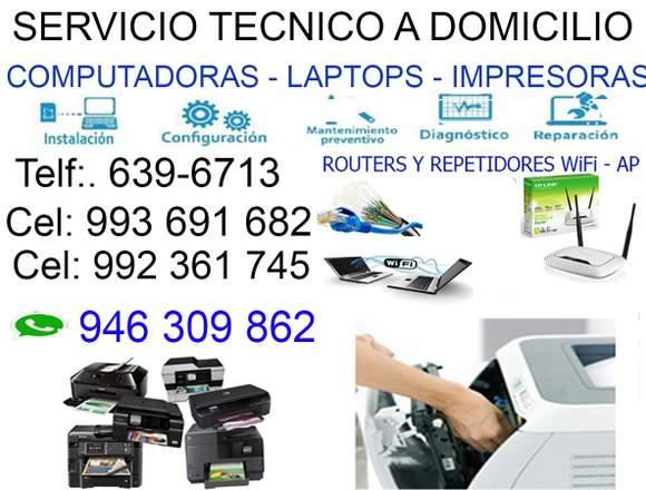 993691682 SERVICIO TÉCNICO DE LAPTOP PC MIRAFLORES