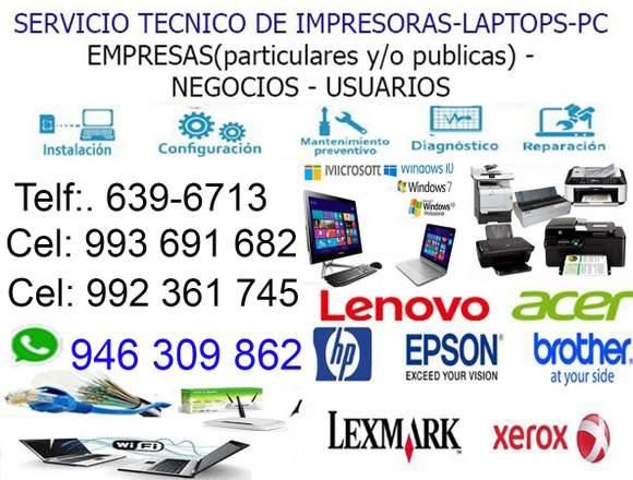 REPARACIÓN DE LAPTOPS PCs 946309862 MIRAFLORES
