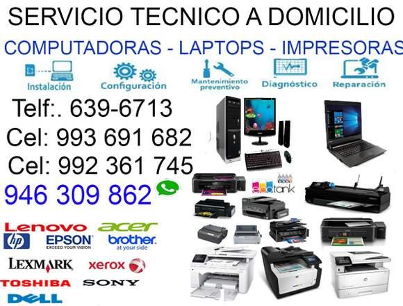 993691682 SERVICIO TÉCNICO DE COMPUTADORAS BREÑA