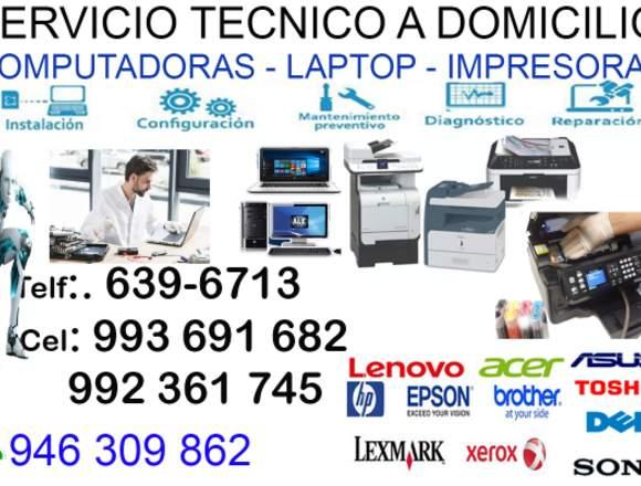 920409215 REPARACIÓN DE COMPUTADORAS LAPTOP BREÑA