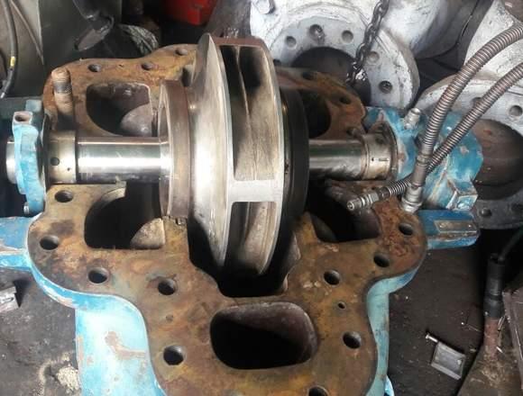 "Bomba centrifuga 10""x8"" Impeler en acero inox"
