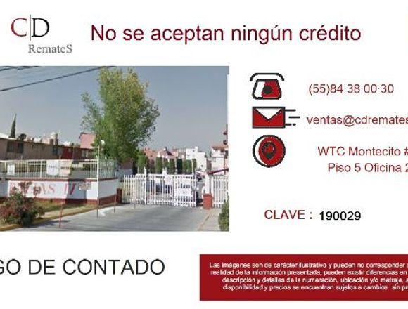Casa en Coacalco de Ber. Remate Bancario