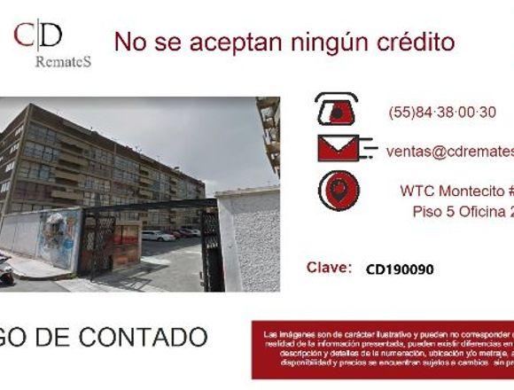 REMATE: Depto en la Morelos, Cuauhtémoc. CD190090