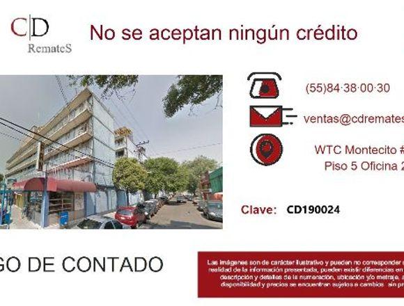 REMATE: Depto en Pasteros, Azcapotzalco CD190094