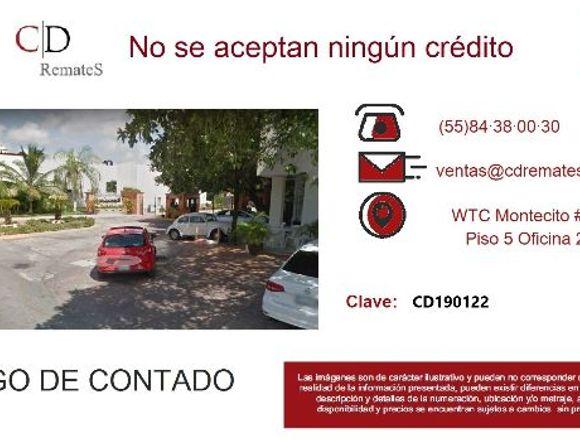 REMATE: Depto Sn Gerónimo, Cancún. CD190122