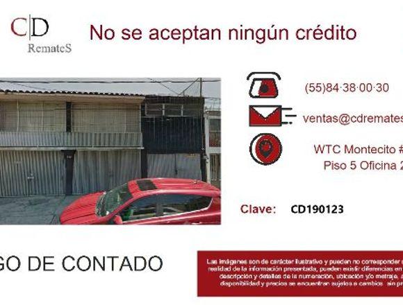REMATE: Casa en Lindavista, GAM. CD190123